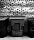Abfall-Dosen lizenzfreie stockfotos