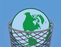 Abfall-Erde Stockfotos
