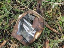 Abfall im Busch Lizenzfreie Stockfotografie