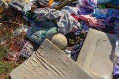 Abfall ist schwierig zu verdauen stockfoto