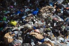 Abfall-Krise im Libanon Stockbild