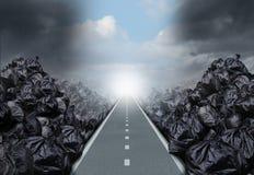 Abfall-Lösung Lizenzfreies Stockbild