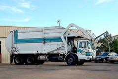 Abfall-LKW Stockfotografie