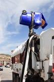 Abfall-Stauraum, der Speicherauszug ist Stockfoto