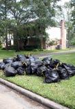 Abfall-Tag Stockbild