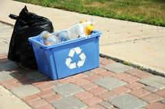 Abfall und Wiederverwertung Stockfotos