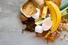 Abfall von der Küche stockfoto