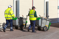Abfallabgassammler Lizenzfreies Stockfoto