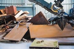 Abfallaufbereitungsfabrik lizenzfreies stockfoto