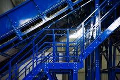 Abfallaufbereitungsfabrik lizenzfreie stockfotografie