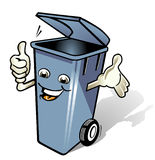 Abfallbehälter Lizenzfreie Stockbilder