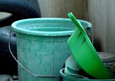 Abfallbehälter Stockfotos