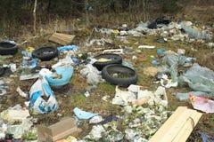 Abfallhaufen Stockfoto
