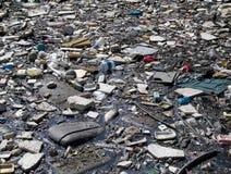 Abfallpfütze Lizenzfreie Stockbilder