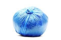 Abfalltasche lokalisiert auf Weiß Stockfoto