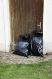 Abfalltaschen Stockfotos