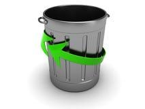 Abfallwiederverwertung Lizenzfreies Stockfoto