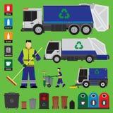 Abfallwiederverwertung Stockbild