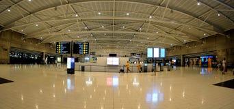 Abfertigung im Larnaca-Flughafen - Zypern Stockbilder