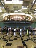 Abflug Hall des Terminal-drei Stockfotos