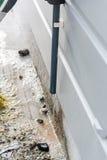 Abfluss der Klimaanlage Lizenzfreie Stockbilder