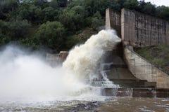 Abflusskanal der Verdammung des Yeguas Lizenzfreies Stockbild