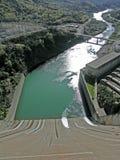 Abflusskanal für Shasta-Verdammung Lizenzfreies Stockbild