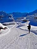 Abflussrinnen-Alpen Lizenzfreies Stockbild