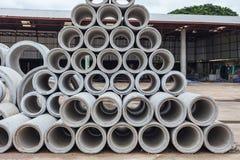 Abflussrohr Abwasserrohre benutzt für Entwässerungsbau Stockfoto