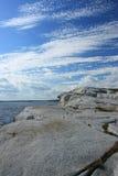 Abfressende Granitküstenlinie Lizenzfreie Stockbilder