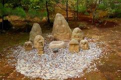 Abgaben für japanische Götter, Kyoto, Japan Lizenzfreie Stockfotos