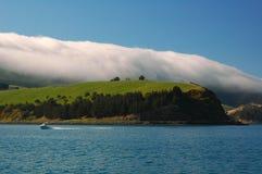 Abgedeckt durch die Wolken. Lizenzfreies Stockfoto