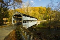 Abgedeckte Brücke lizenzfreie stockfotos