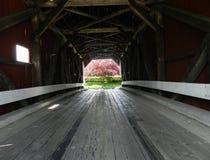 Abgedeckte Brücke Lizenzfreie Stockfotografie