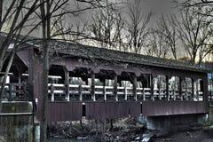 Abgedeckte Brücke Lizenzfreies Stockfoto