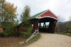 Abgedeckte Brücke New-Hampshire Stockfoto