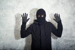 Abgefangener Einbrecher Stockfoto