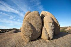Abgefressene Felsen in Kalifornien Lizenzfreies Stockbild