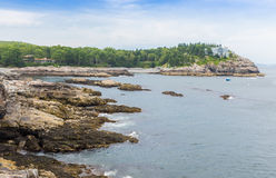 Abgelegene Bucht Stockbild