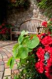 Abgelegener Garten Seat Stockfotos