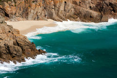 Abgelegener Küstenschacht Lizenzfreie Stockbilder