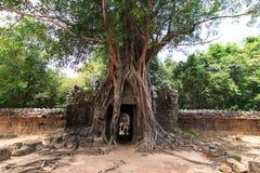 Angkor Thom Stockbild