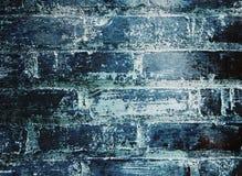 Abgenutzte Backsteinmauer stockbild