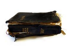 Abgenutzte Bibel Stockbild