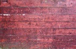 Abgenutzte rote Scheunenwand stockfoto