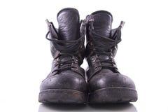 Abgenutzte schwarze Armeematten Lizenzfreie Stockfotos