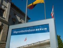 Abgeordnetenhaus av Berlin House av representanter Arkivfoto
