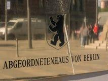 Abgeordnetenhaus av det Berlin ID-Märket Royaltyfri Foto