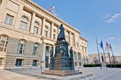 Abgeordnetenhaus i Berlin, Tyskland Royaltyfri Foto