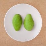 Abgezogene Avocado Lizenzfreies Stockbild